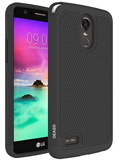 separation shoes 68108 510c9 LG Stylo 3 Case, LG Stylo 3 Plus Case, OEAGO [Shockproof] [Impact  Protection] Hybrid Dual Layer Defender Protective Case Cover for LG Stylo 3  / LG ...