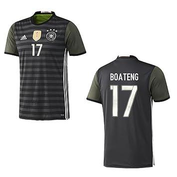 pretty nice 17ac2 ed14e adidas DFB Deutschland Trikot Away Kinder Euro 2016 - Boateng 17