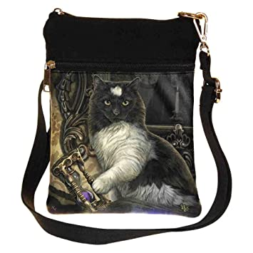 SHOULDER BAG TIMES UP LISA PARKER CAT HOUR GLASS SMALL NEMESIS NOW LADIES NEW