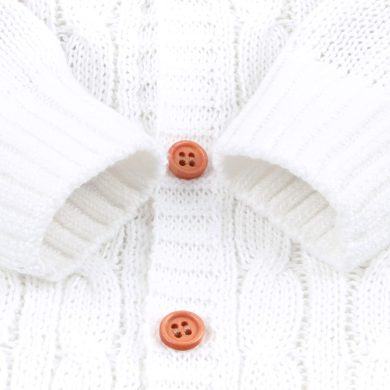 mimixiong Baby Overall Strampler Footed Spielanzug M/ädchen Jungen Jumpsuit