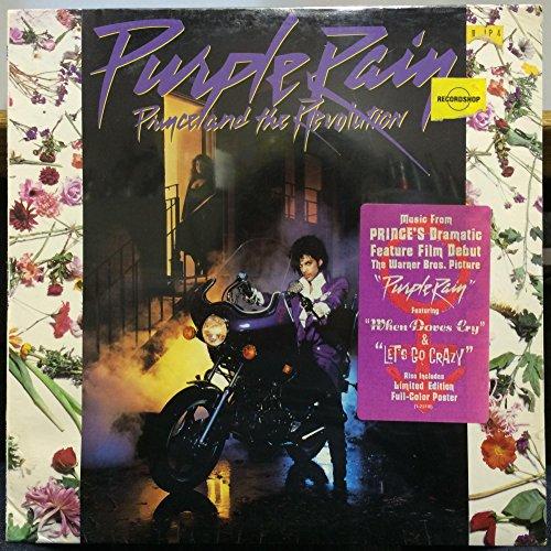 Prince & The Revolution Purple Rain vinyl record