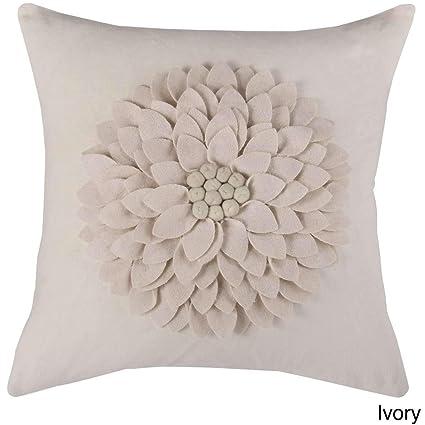 Amazon.com: 1 pieza Marfil 3d de lujo diseño de flores ...