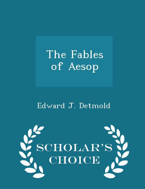 Fables Aesop Edward J Detmold product image