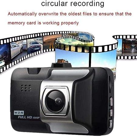 Dadiku Durable y pr/áctica Pantalla LCD HD Lente Gran Angular Grabador de conducci/ón de autom/óviles C/ámaras