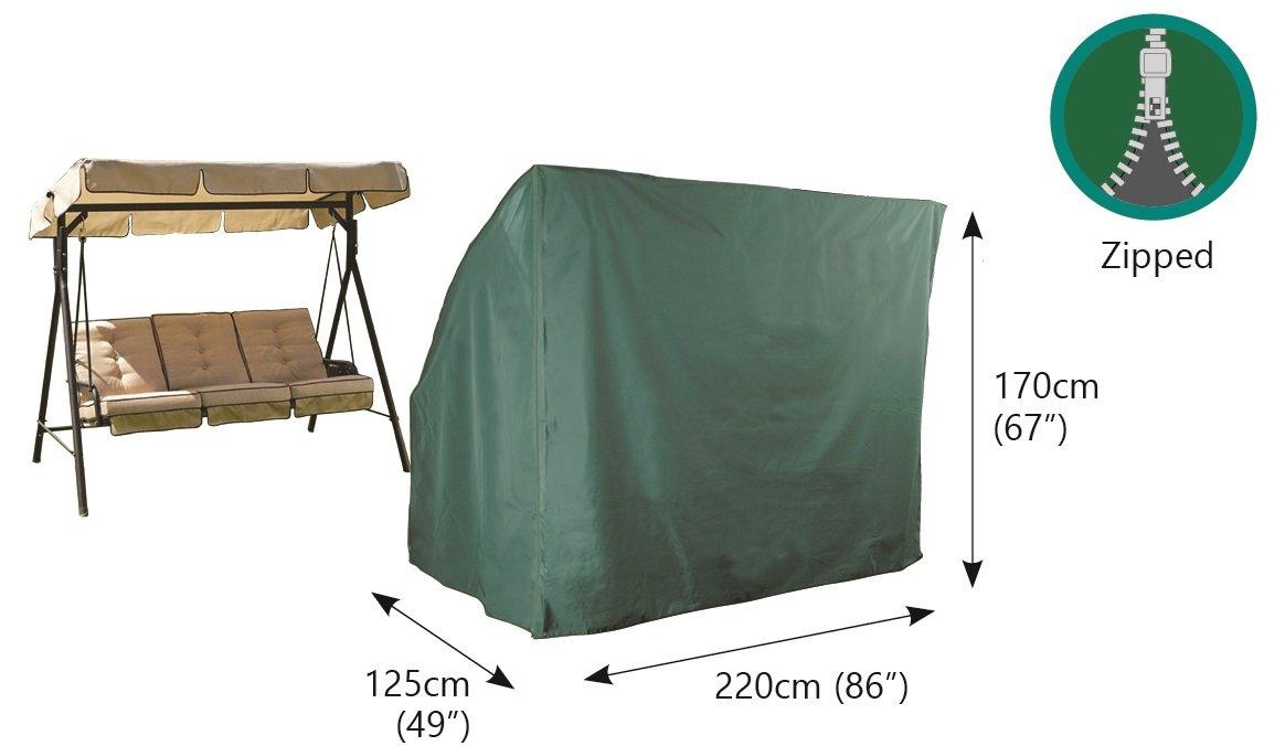 Garden Hammock Cover - 3 seat - 220cm x 125cm x 170cm Wclub Limited