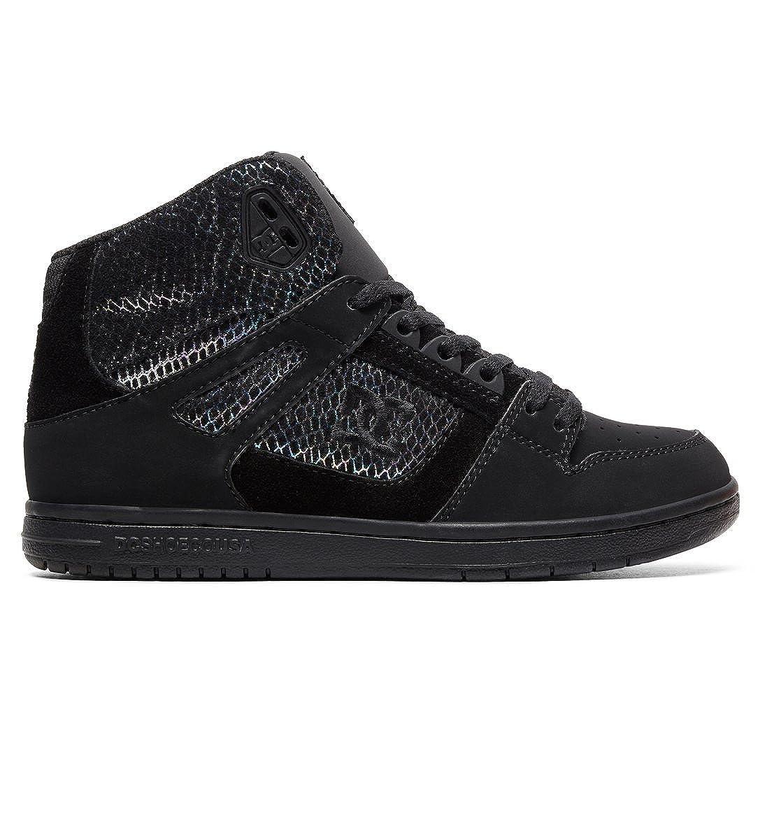 DC Schuhes Pure SE - Hi Tops für Frauen ADJS100116 schwarz/Silver/schwarz
