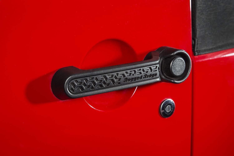 Rugged Ridge 13311.41 Aluminum Door Handle Insert