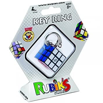 TOYLAND Mac Due 51939 Rubik Llavero, 3 x 3 cm: Amazon.es ...