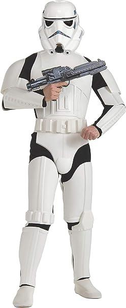 Oferta amazon: Star Wars - Disfraz de Stormtrooper Deluxe para adulto, Talla única (Rubie's 888572)