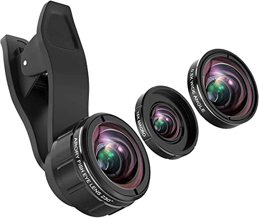 arory Lente para teléfono móvil – Kit Objetivo para cámara iPhone ...
