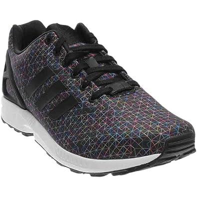 adidas black zx flux