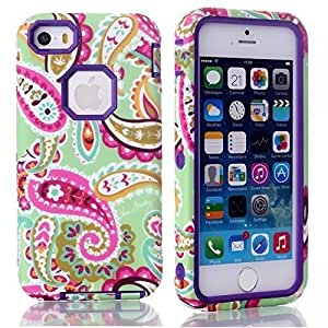 5S Cases,case for iphone 5,iPhone Cases 5,iPhone 5 Case,iPhone 5S Case,iPhone 5 Cases,Cool iPhone 5 Cases,Nacycase iPhone 5 Floral Case Hybrid Hard Back Case Cover For iPhone 5 5S