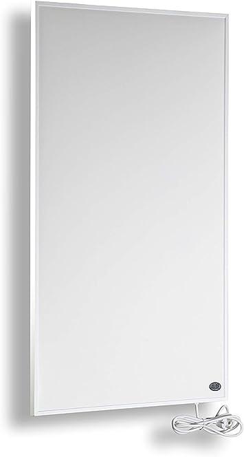 Könighaus Fern Infrarot Heizung 600 Watt Mit Thermostat Gs Tüv Deutscher Hersteller 30 Tage Geld Zurück Garantie Neueste Technologie 10 Jahre Herstellergarantie Elektroheizung Mit überhitzungsschutz Heizt 8 18m Raum Amazon De