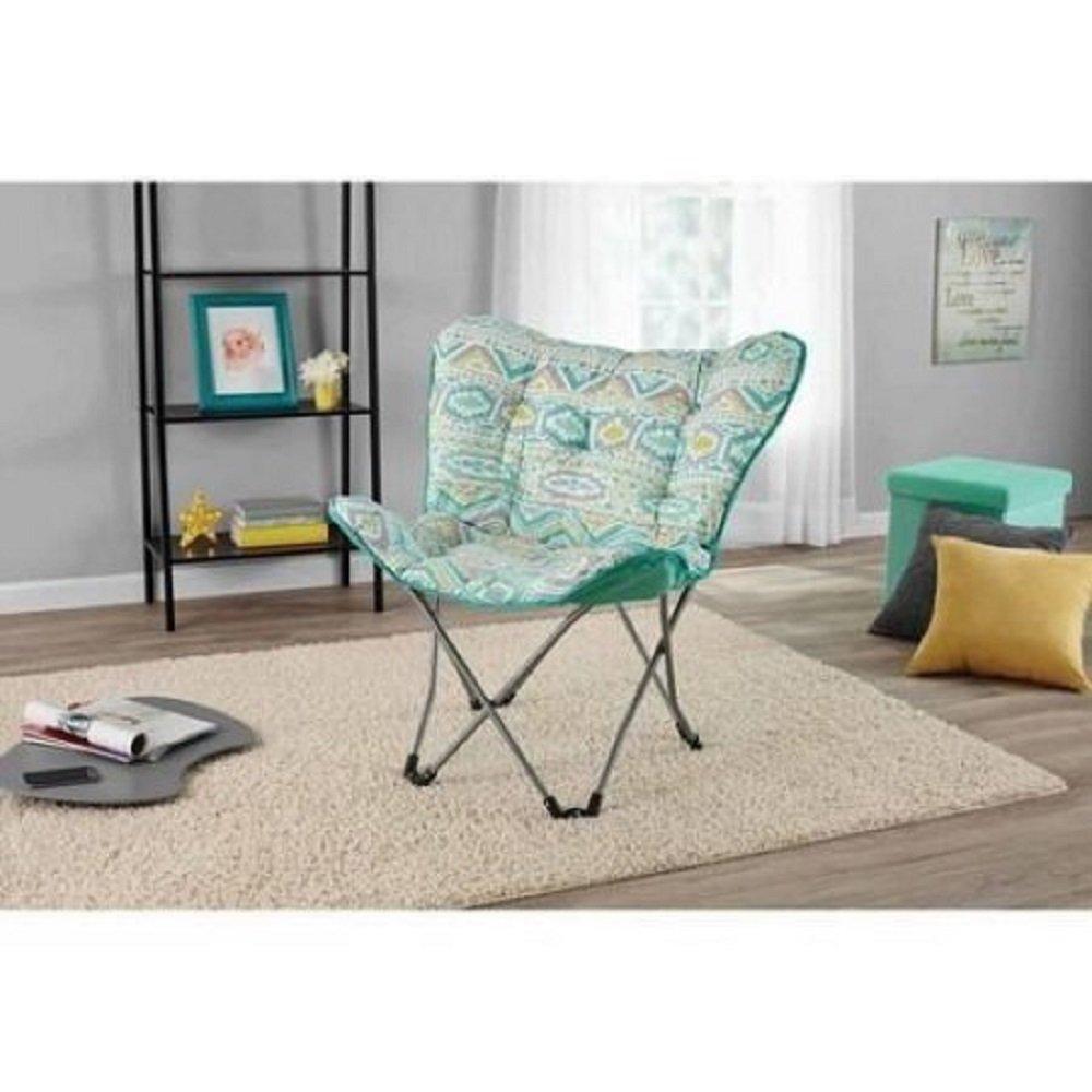 Amazon.com: Mainstays mariposa para sala de silla con ...