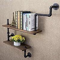 Reclaimed Wood & Industrial DIY Pipes Shelves Steampunk Rustic Urban bookshelf