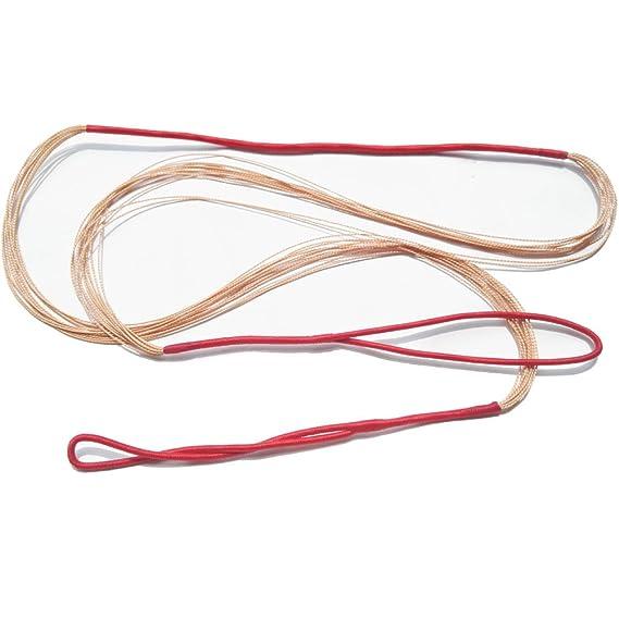 Tiro al arco Dacron Cuerda del arco 45-75Para el arco largo Arco recurvo