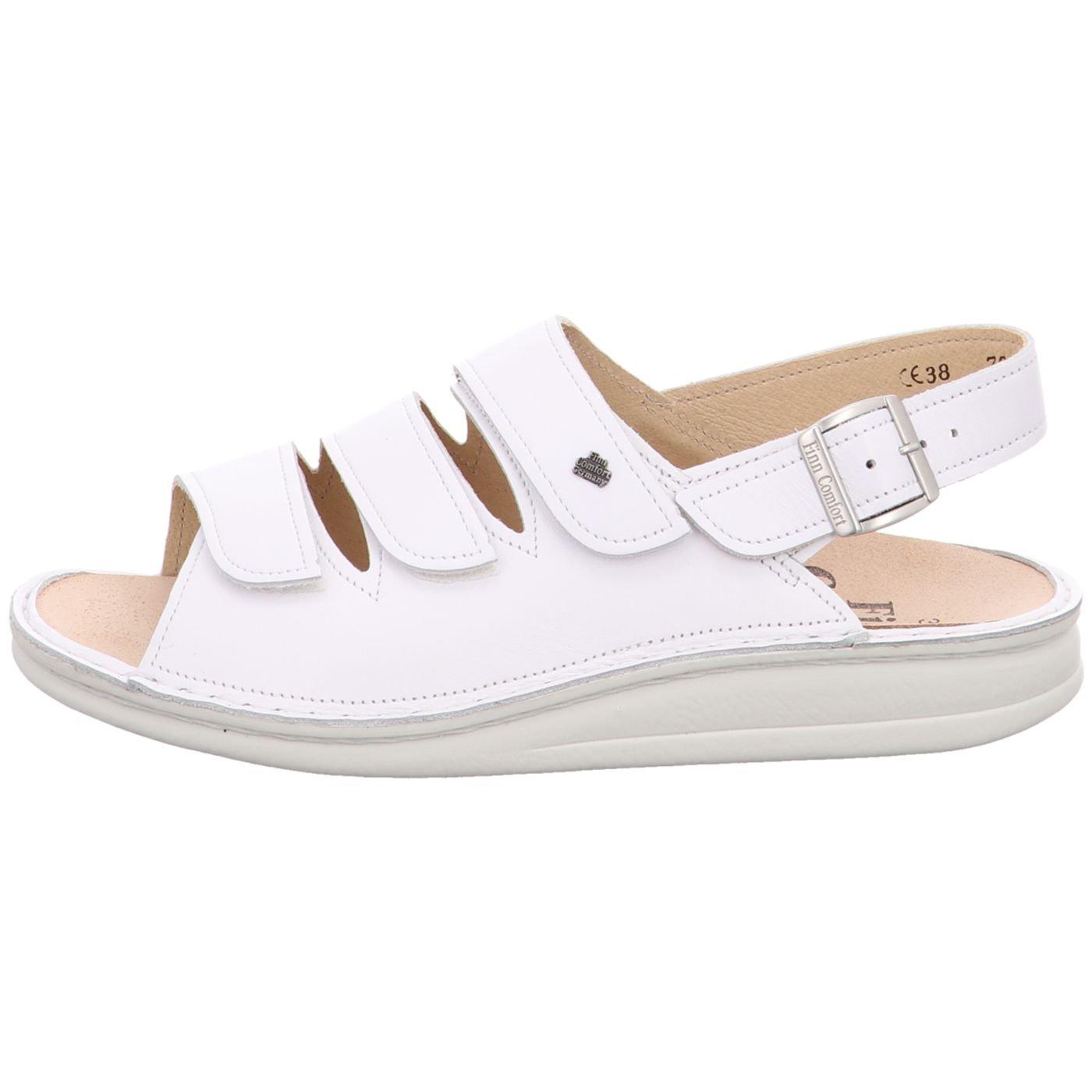 FinnComfort Damen Sandaletten Sylt 2509 001000 weiß 409118