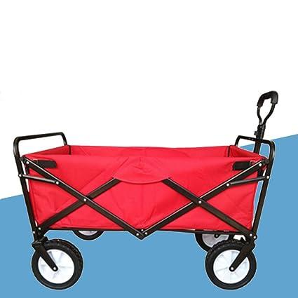 Carro de compras YLLXX Pet Child Supermercado Shopping Carrito Plegable Pesca Al Aire Libre Camping Carrito