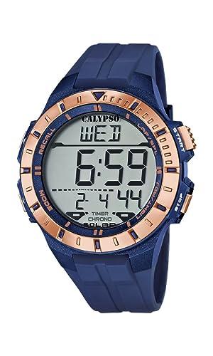 Calypso Reloj Digital para Hombre de Cuarzo con Correa en Plástico K5607/7: Calypso: Amazon.es: Relojes