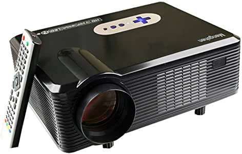 Mengshen Proyector HD 3000 lúmene, Proyectores 1280x800P