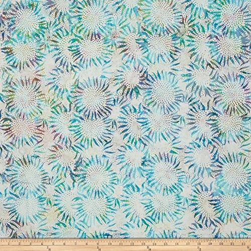 Hoffman Fabrics Bali Handpaints Batiks Sunflower Prism Fabric by The Yard