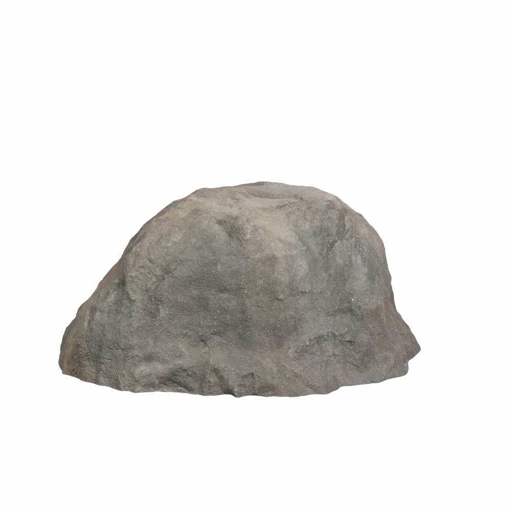Outdoor Essentials Faux Boulder Rock,  Grey,  Sitting