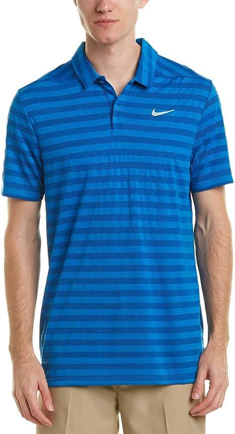 Nike - Camiseta de Golf para Hombre, diseño de Rayas de Polo seco ...