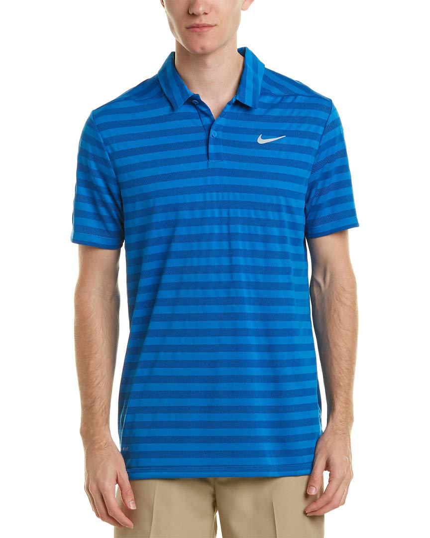 Nike Mens Golf Dry Polo, XXL, Blue: Amazon.es: Deportes y aire libre
