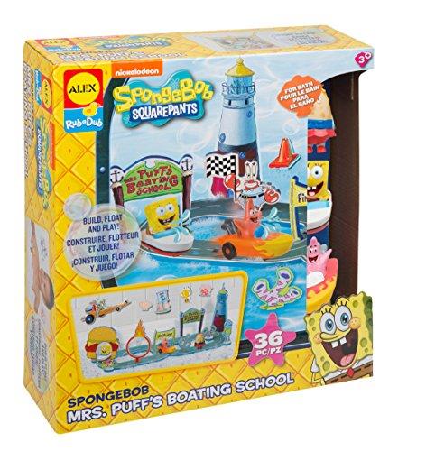 SpongeBob Puffs Boating School Playset product image