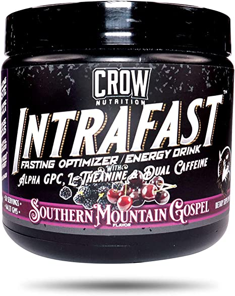 INTRAFAST Intermittent Fasting Drink Powder Supports Intermittent, Keto, and Water Fasting, Electrolytes, Caffeine, Destroy Your Fasts with Ease.(30 Servings) SMG Flavor