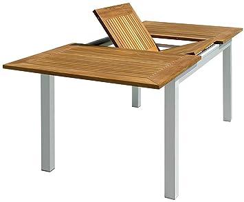 PEGANE Table de Jardin rectangulaire et Extensible en Aluminium et ...