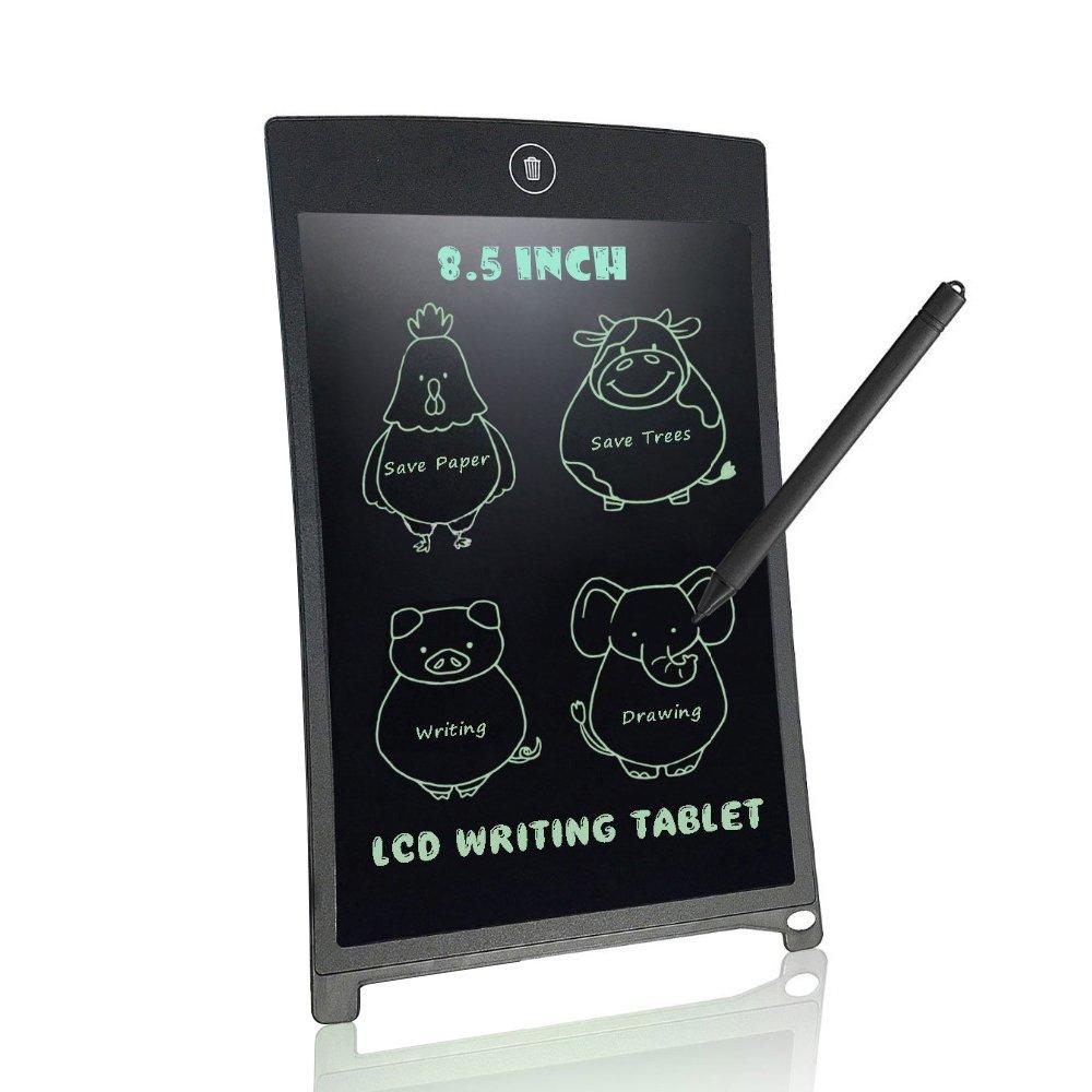 Anble LCD Elektronischer Schreibplatte - 8.5 zoll Digital Portable Zeichnung Botschaft Handschrift des Bulletin Board für Haus, Büro und Kinder Täglich Planer (Schwarz)
