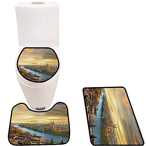 Fabulous Amazon Com Cushion Non Slip Toilet Mat Rom Ti Verona On Uwap Interior Chair Design Uwaporg
