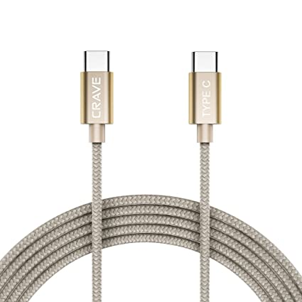 Amazon.com: Tipo C Cable, Type C a Type C Cable – Crave ...