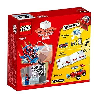 LEGO Juniors 10665: Spider-Man Spider-Car Pursuit: Toys & Games