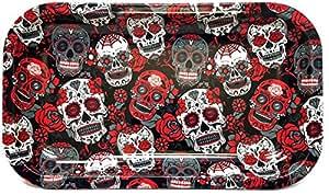 Rolling Paper Depot Rolling Tray (Skulls)