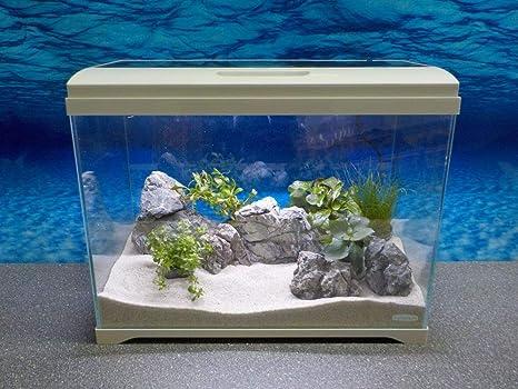 Aquaristikwelt nano acquario della serie at con display touch in
