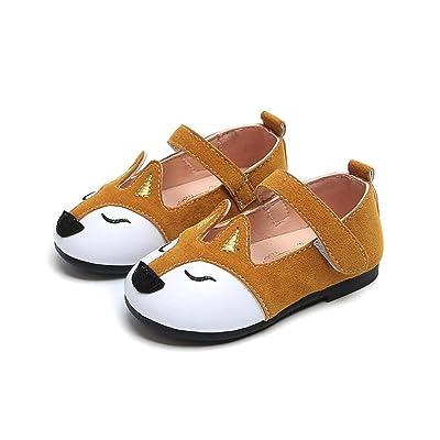 Dainzuy Toddler Baby Boys Girls Ballerina Fox Pricness Flat Shoes