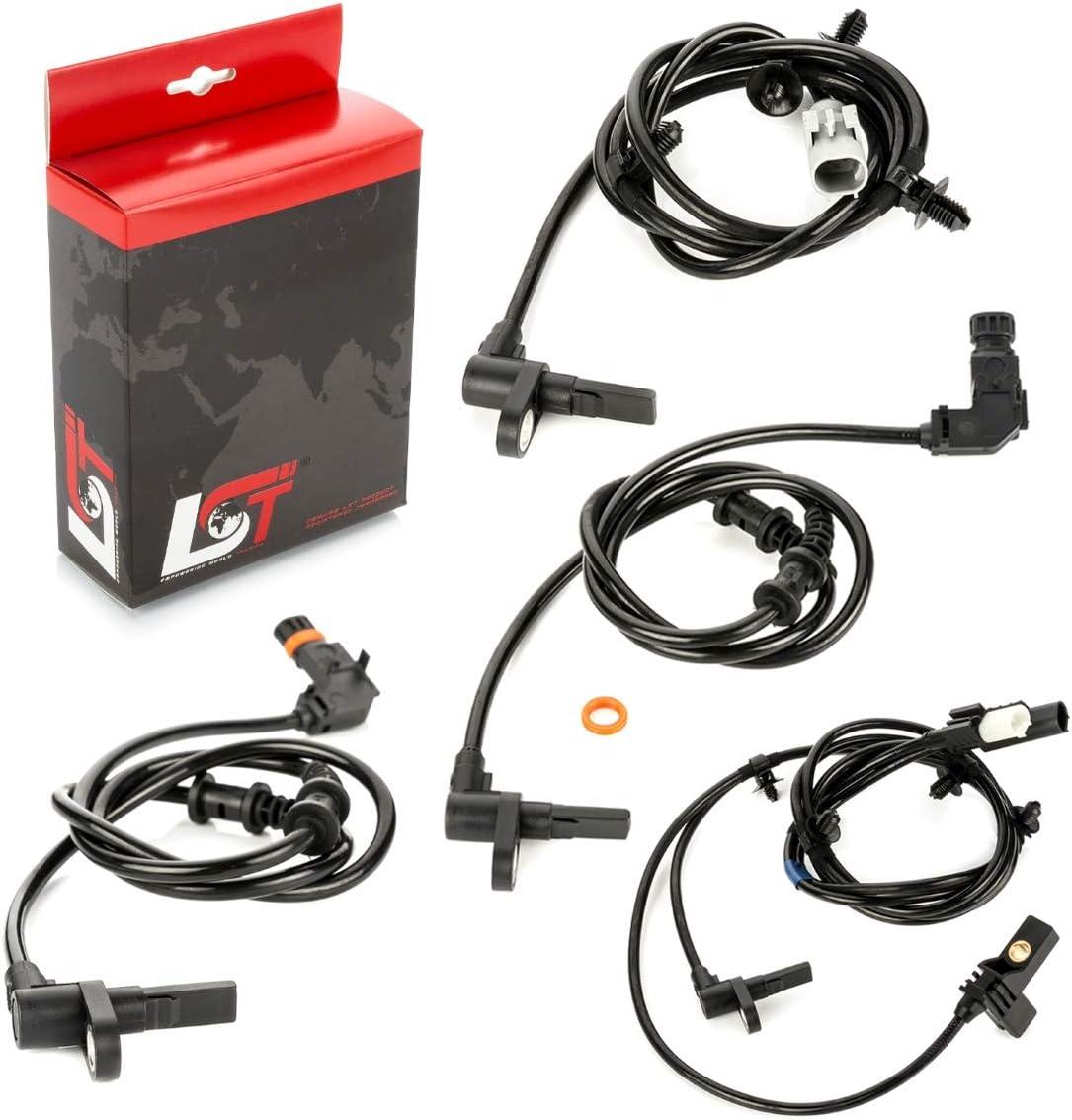 LST 4x ABS Sensor Drehzahlregler Set vorne hinten VITO VIANO W639