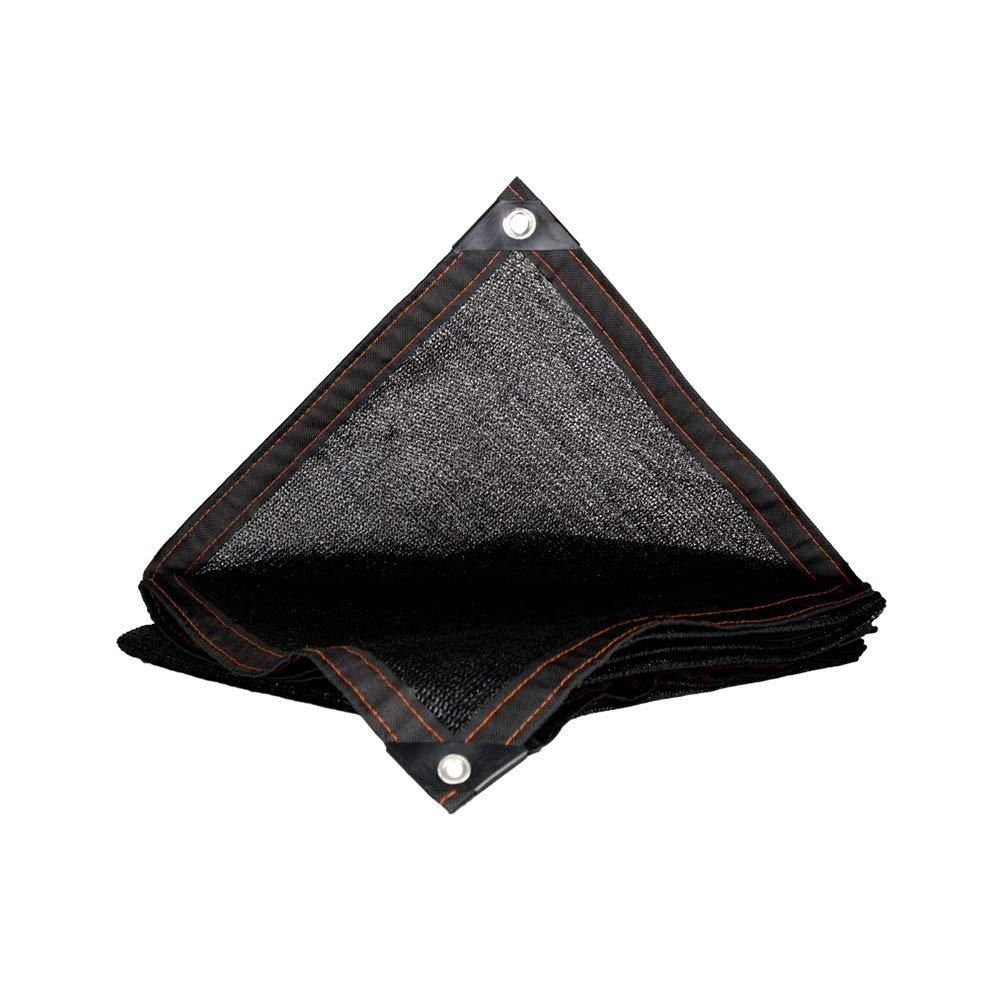 DGLIYJ Rete Parasole Protezione Solare Rete Isolante Netto Pacchetto di Crittografia A 8 Pin Lato Perforata Balcone Cortile Tetto Rete di Isolamento Carnoso (Dimensioni   4×9m)