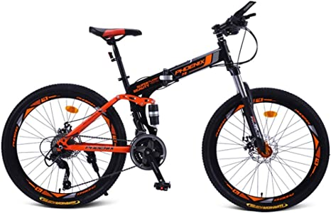 Mountain BikeBicicleta de Montaña Plegable Bicicleta Adulto Doble ...