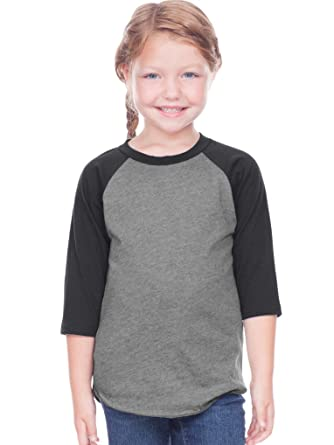 a10fc48c Amazon.com: Kavio! Toddlers Jersey Contrast Raglan 3/4 Sleeve: Clothing