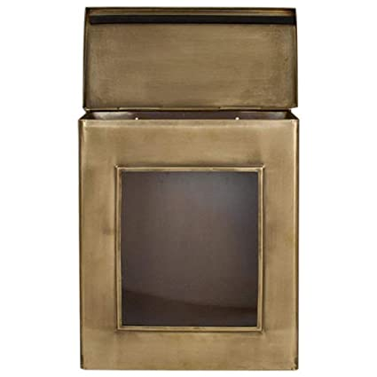 Vertical wall mount mailbox Contemporary Image Unavailable Image Not Available For Color Naiture Brass Vertical Wallmount Mailbox Peppinosmaltacom Naiture Brass Vertical Wallmount Mailbox With Viewing Panel In