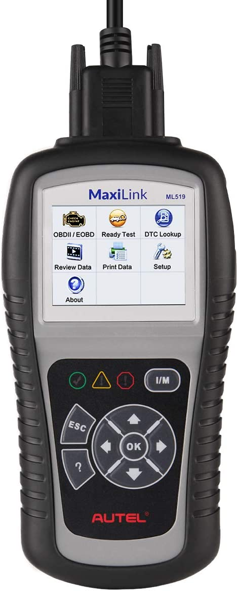 Autel MaxiLink ML519 OBD II//EOBD Scanner Enhanced OBD II Mode 6
