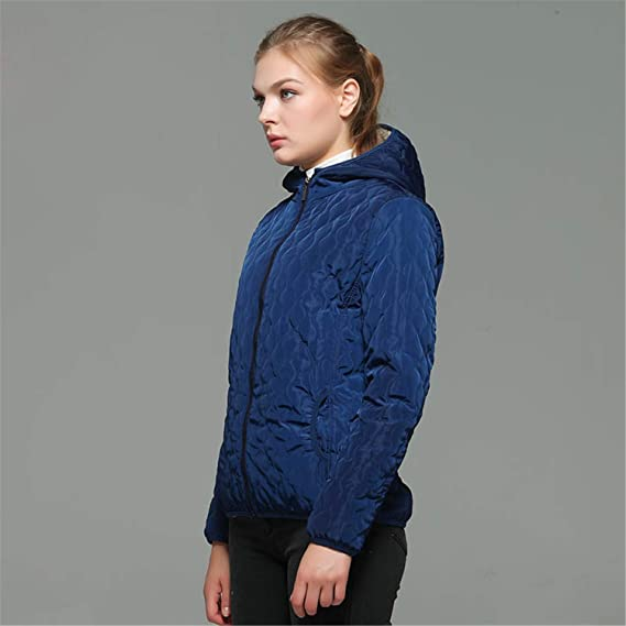 Amazon.com: KLMIR& Hooded Fleece Women Winter Jacket New Casual Warm Long Sleeve: Clothing