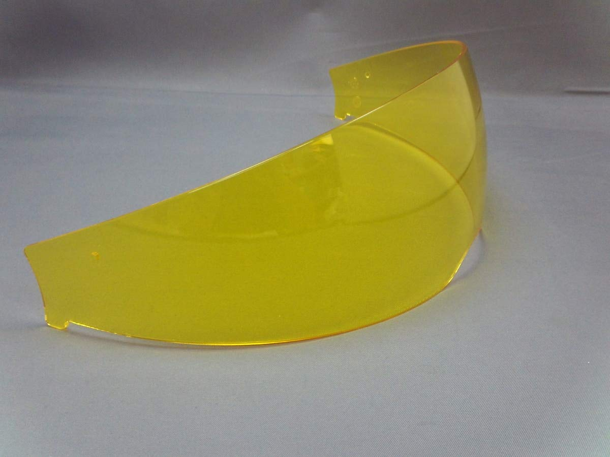 Shoei QSV-1 Sun Visor Street Motorcycle Helmet Accessories - High Definition Yellow/One Size 01-70786