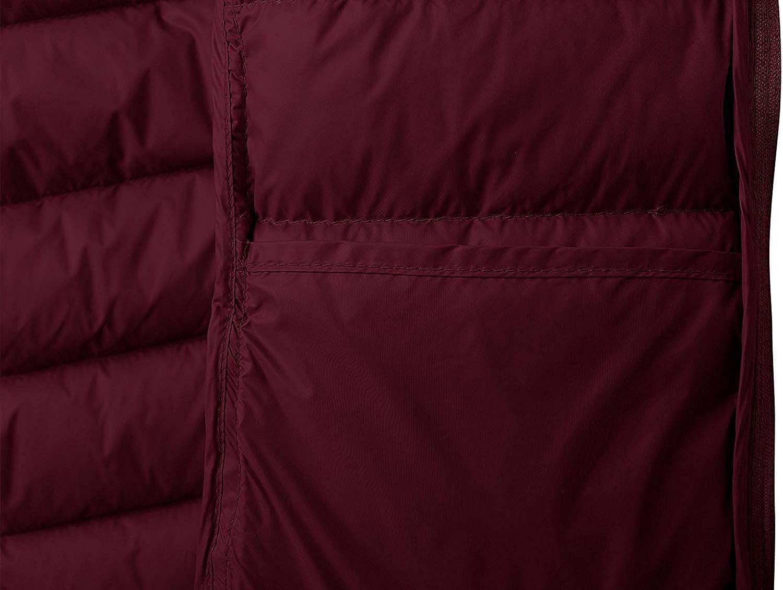 Wantdo Piumino Ultraleggero Invernale Corto Giacca Calda con Colletto Stand Cappotto Antivento Outdoor Giubbotto Imbottito Isolante Ripiegabile Donna
