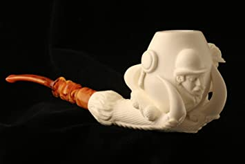 Sherlock Holmes u0026 Dr Watson in Claw - Meerschaum Pipe - Hand Carved from the Best & Amazon.com: Sherlock Holmes u0026 Dr Watson in Claw - Meerschaum Pipe ...