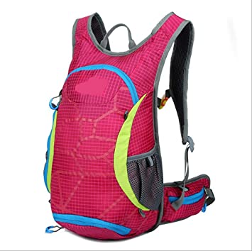 Xiuxiandianju Mochilas outdoor 15L deportes natación bicicleta bolsa mochila bolso del equipo de ciclismo , rose red: Amazon.es: Deportes y aire libre