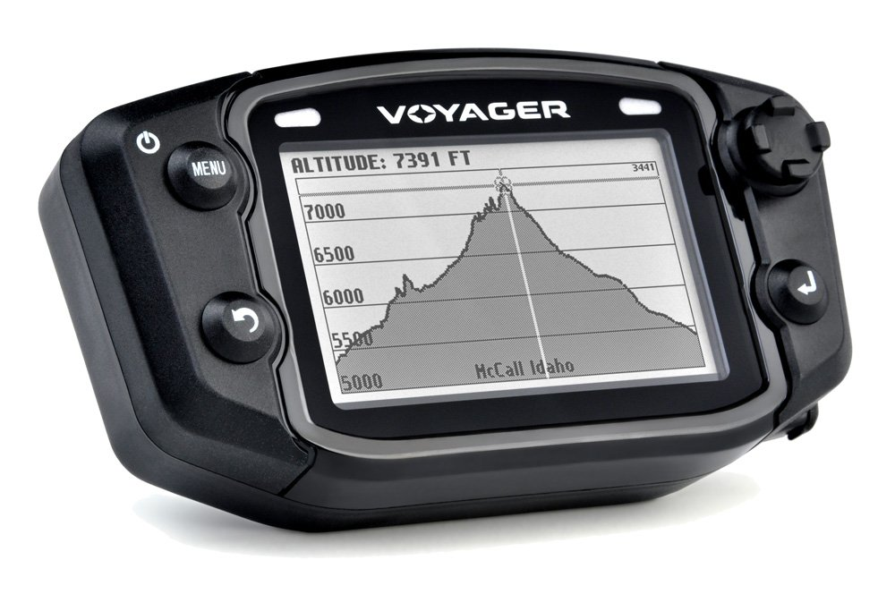 Trail Tech 912-102 Voyager Stealth Black Moto-GPS Computer by Trail Tech (Image #3)